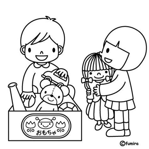 imagenes para colorear jardin de infantes l 225 minas para colorear sobre las tareas del hogar spanish