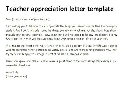 appreciation letter on teachers day appreciation letter template brilliant ideas of