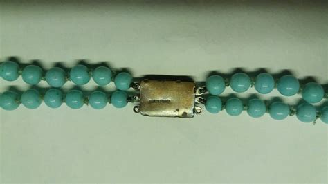 bead need peking glass bead necklace in need of tlc collectors weekly