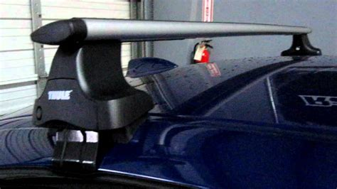 E60 Roof Rack by Bmw M5 5 Series With Thule Rapid Traverse Aeroblade Roof