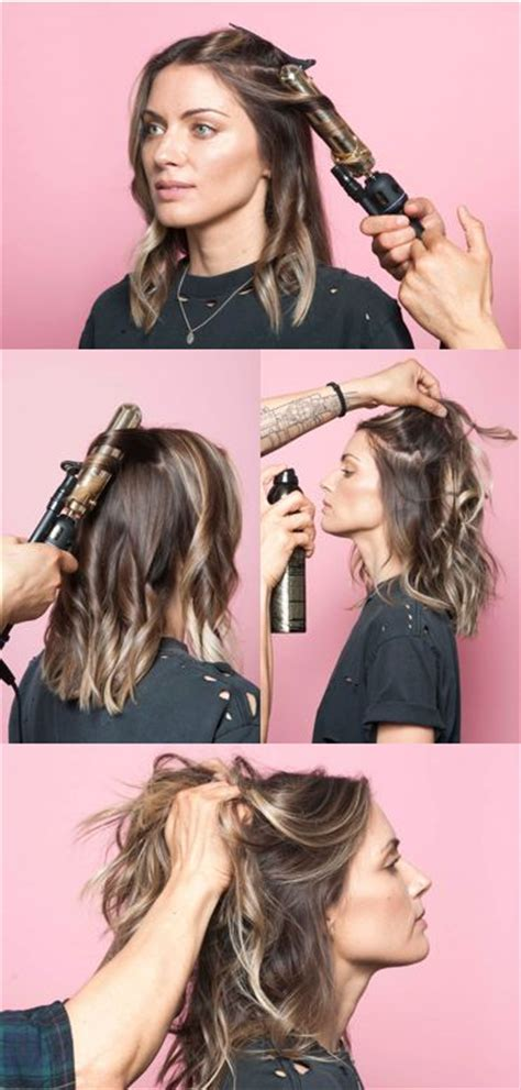 how to curl a long bob with no heat 25 best ideas about wavy hairstyles tutorial on pinterest