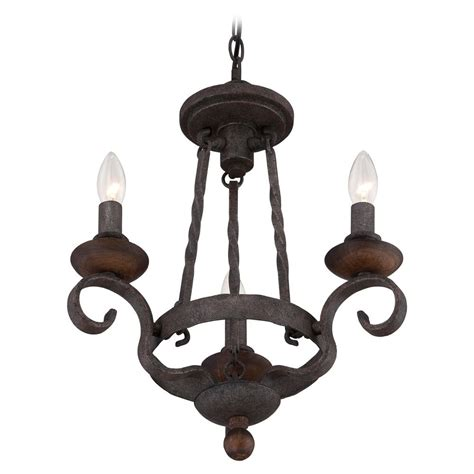 Black Mini Chandelier Quoizel Noble Rustic Black Mini Chandelier Nbe5303rk Destination Lighting