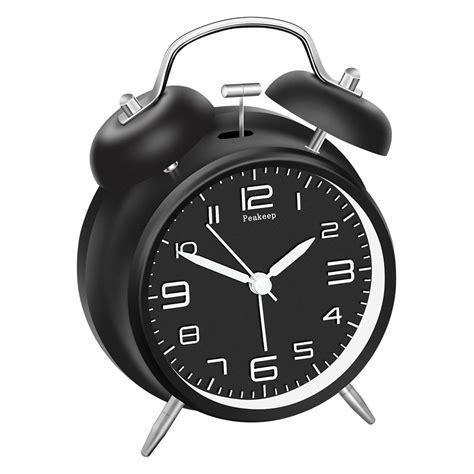 bell quartz bedside alarm clock health personal care