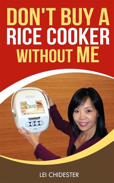 Dont Shop Without This Book by Rice Cooker Buying Guide