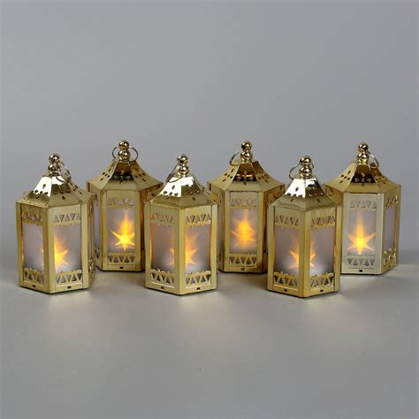 Mini Lantern Lights by Lights Flameless Candles Lanterns Anthea Gold