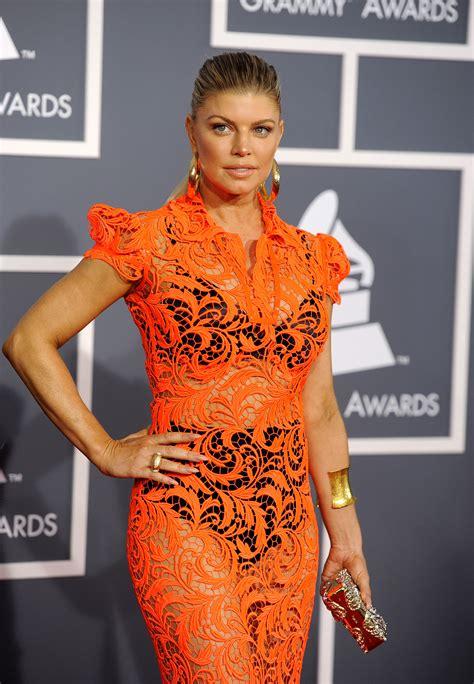 Grammy Awards Fergie by Fergie Ferguson At 54th Annual Grammy Awards In Los