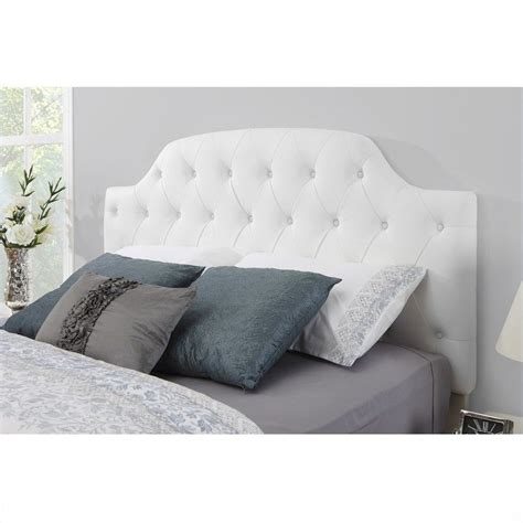 queen headboard on full bed faux leather upholstered full queen headboard da6126fq