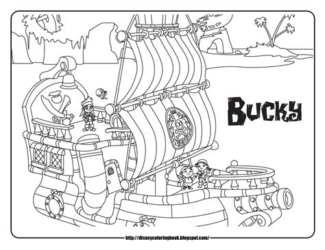 Free Jake And The Neverland Coloring Pages Jake Neverland Coloring Pages