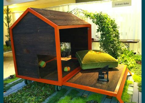 weird dog houses unusual dog houses win seattle barkitecture design contest