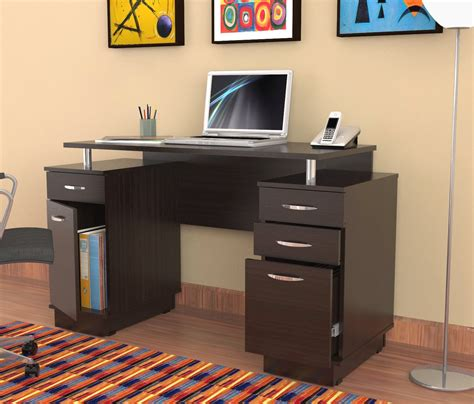 office desk with locking drawers total fab desks with file cabinet for small home