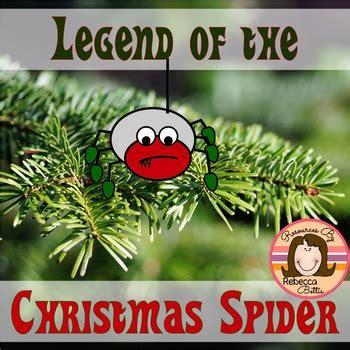 printable version christmas spider rebecca bettis teaching resources teachers pay teachers