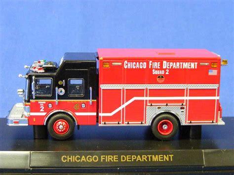 rescue chicago buffalo road imports rescue truck chicago squad 2 rescue trucks diecast