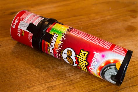 pinhole can pinhole made out of a pringles can crafts