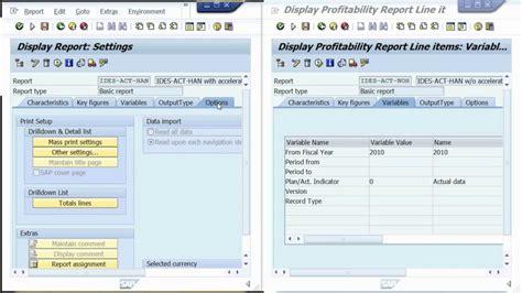 sap copa tutorial sap hana accelerating sap profitability analysis co pa