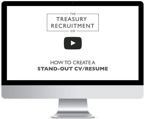 Resume Advice by Treasury Cv Resume Advice The Treasury Recruitment Co