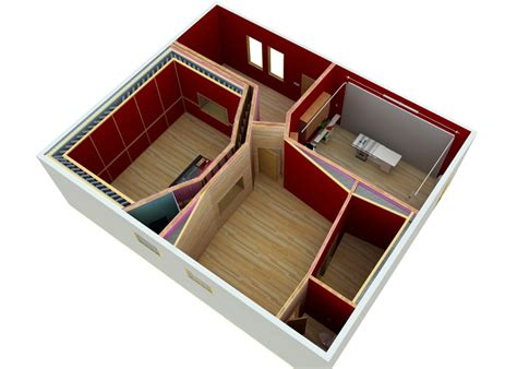 House Plans With Observation Room by Recording Studio Design Service The Dream Studio Blueprint