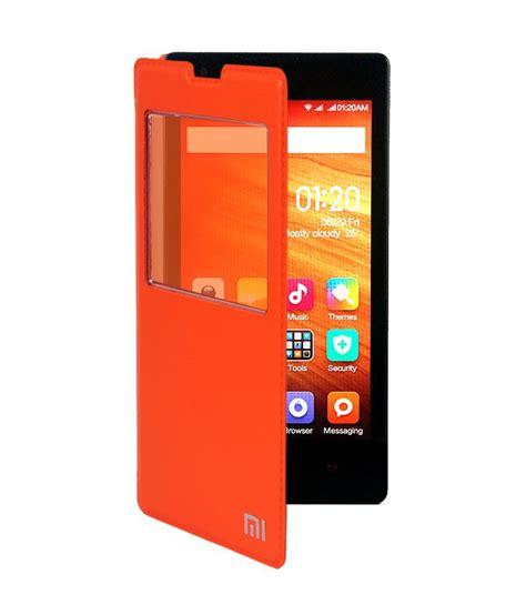 Flip Cover Redmi 1s Redmi 1s koloredge flip cover for xiaomi redmi 1s orange flip
