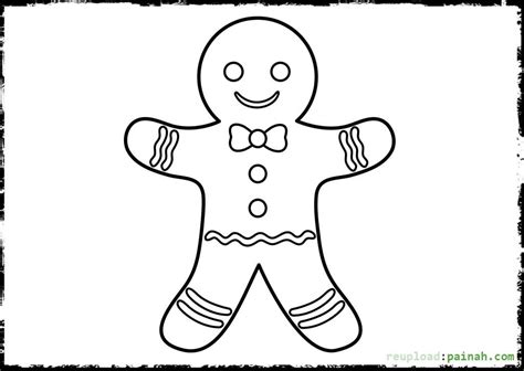 coloring page gingerbread boy gingerbread coloring pages boy coloring pages