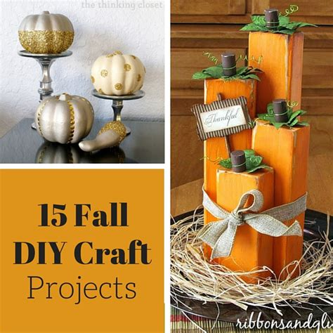 diy fall craft ideas fall crafts and diy projects weekend craft