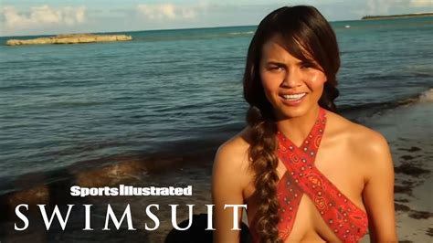 alex painting swim daily si swimsuit 2013 painting outtakes swim daily