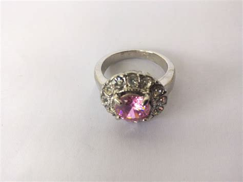 Cincin Swarovski jual cincin wanita cubix swarovski element merah