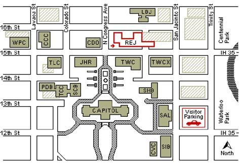 texas capitol complex map legislative budget board