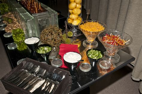 Potato Bar Toppings Idea by Mashed Potato Bar Time