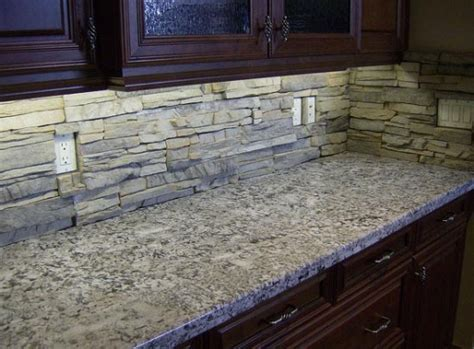 kitchen stone backsplash ideas kitchen backsplash natural stone home design ideas