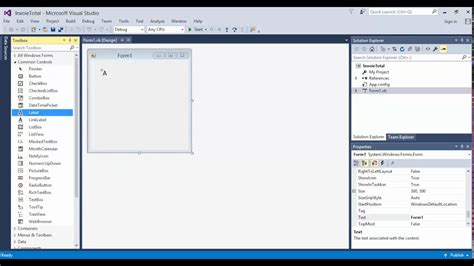 Layout Design Visual Studio | visual studio 2015 visual basic design layout youtube