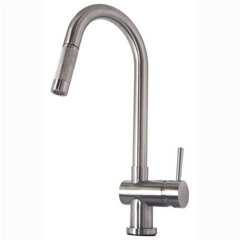 kitchen faucet made in usa huya single hole kitchen faucet with brushed nickel or