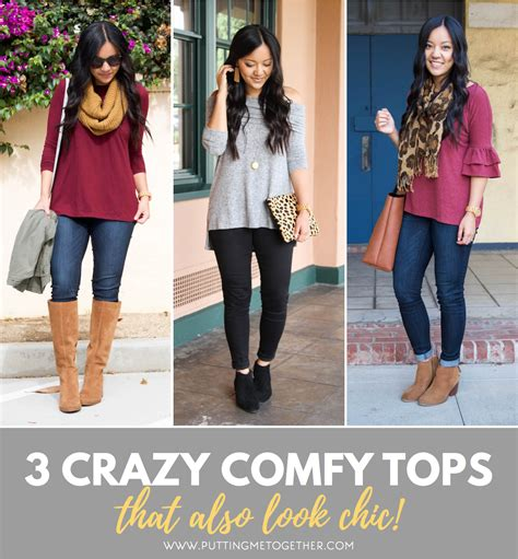Putting It Together Cheap Chic by 3 Comfy But Chic Tops That Feel Like Athleisure Or Pajamas