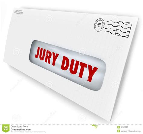 Jury Service Letter Envelope No Jury Duty Clipart Clipart Suggest