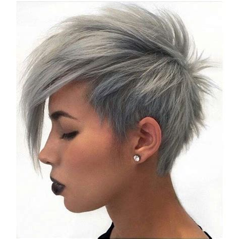 cool short over the ear haircut with long bangs 19 best funky hair styles images on pinterest hair cut