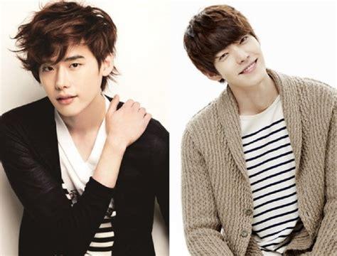 drama lee jong suk kim woo bin lee jong suk and kim woo bin are the perfect pair as the