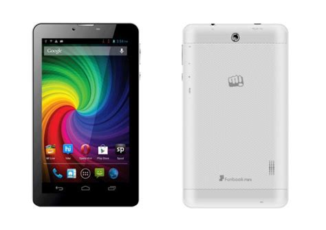 small android tablet micromax funbook mini tablet with voice calling listed for rs 8 820 technology news