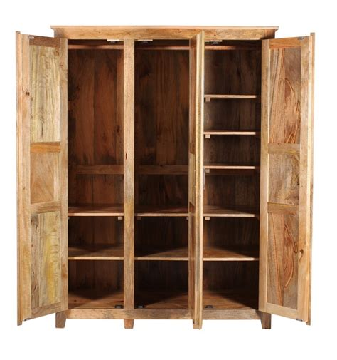 armadi in legno naturale armadio etnico legno naturale armadi etnici su misura