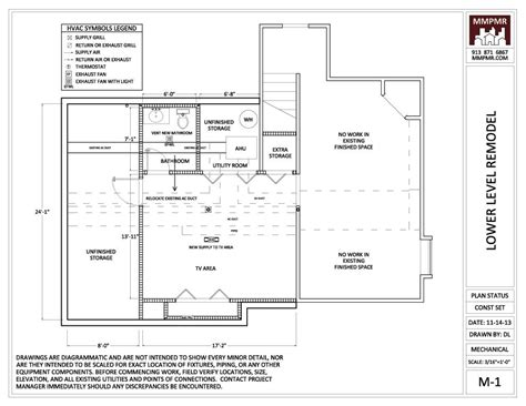 kansas city home design and remodeling north kansas city lower level construction drawings mmpmr