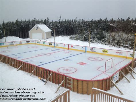 backyard ice hockey rinks reason for the rink home