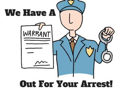 Warrant Out For Arrest Search Scam Is There Really A Warrant Out For My Arrest
