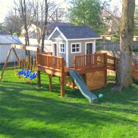 playhouse with swing set 12 backyard swing set our 25 most popular pinterest