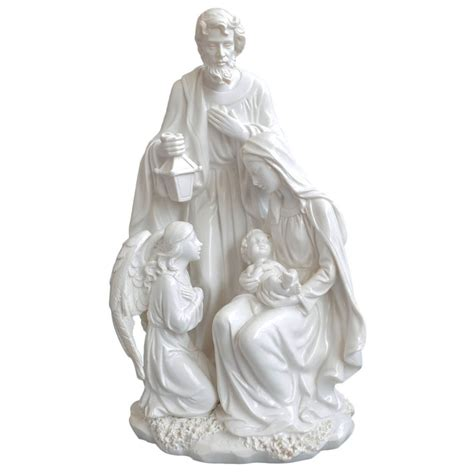 giftgarden holy family statue jesus mary joseph angel