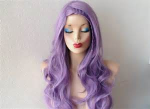 pastel colored wigs pastel wig lavender wig pastel light purple curly