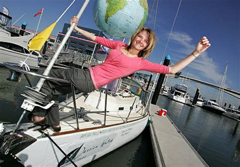 the boat of ra sails straight today jessica watson today i am going to sail around the world