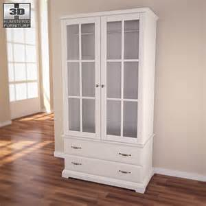 Espresso Armoire Wardrobe Wardrobe 3d Models Buy And Download In 3ds Max Obj