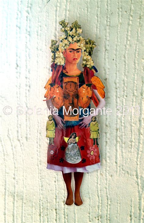 frida kahlo paper dolls frida kahlo paper doll the bride collage art is life life is art
