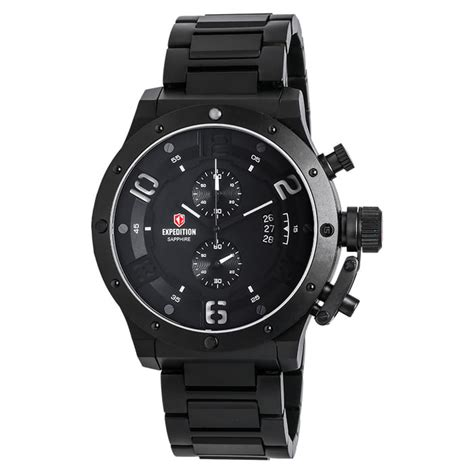 Harga Merk Jam Tangan Expedition jual jam tangan expedition e6381 black