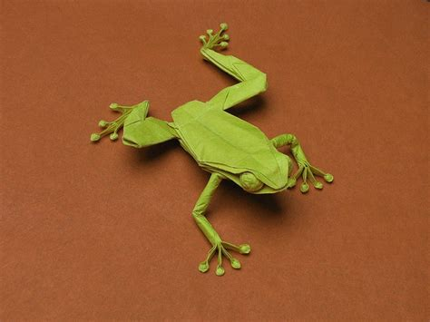 Origami Tree Frog - 17 best images about origami on hydrangeas