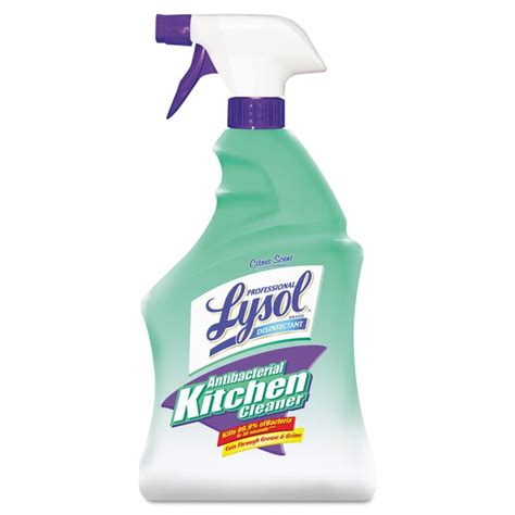 Kitchen Cleaner by Professional Lysol 174 Antibacterial Kitchen Cleaner