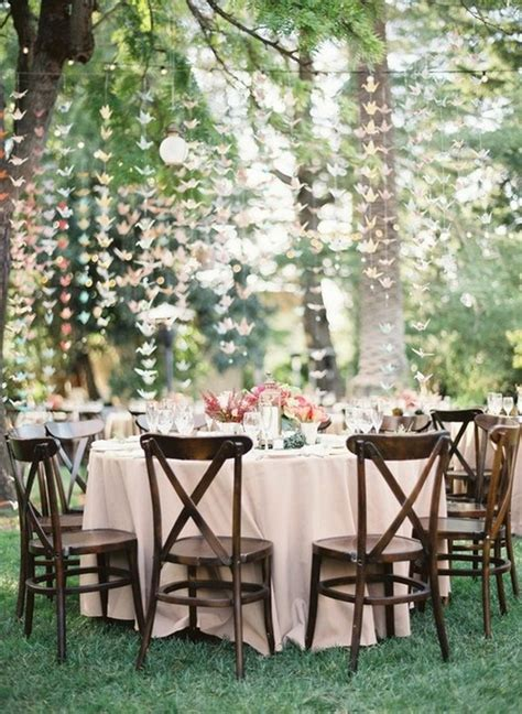 backyard wedding centerpieces good style outdoor wedding decor