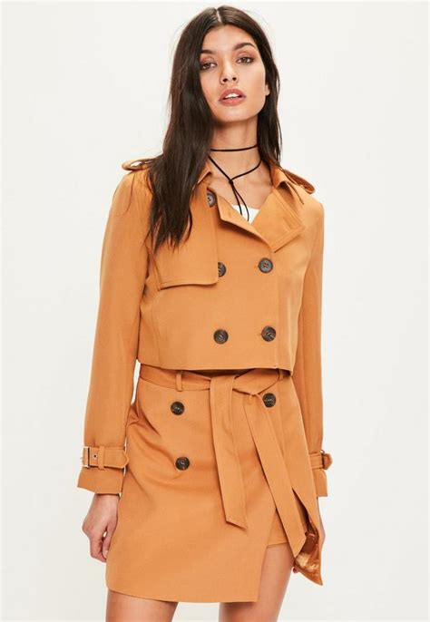 Cropped Trench Coats by Cropped Trench Jacket Missguided